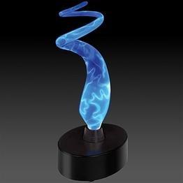 Lumisource MH-SE3SMRBWM-BB Plasma Glass Lamp, Blue (Lumisource Sculptured Electra Lamp)