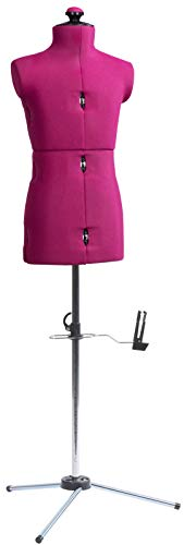 Dritz 20000 Little Miss My Double Dressform with Tri-Pod Stand Adjustable Up to 63