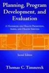 Planning, Program Development And Evaluation