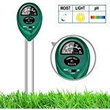 yoyomax Soil Test Kit pH Moisture Meter Plant Water Light Tester Testing Kits for Garden Plants (Best Way To Cut Small Lawn)