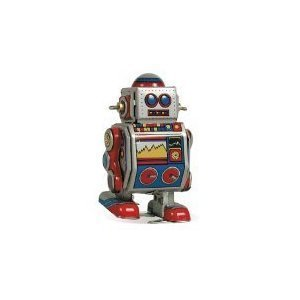 Classic Wind Up Robot - 8