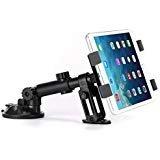 (Premium Car Mount Dash Holder Swivel Cradle Dashboard Dock Stand for iPad, iPad Air, Mini, Pro 9.7 10.5 - LG G Pad F F2 X X2 - Verizon Ellipsis - Samsung Galaxy Tab - All Tablets from 7 to 11 inch)