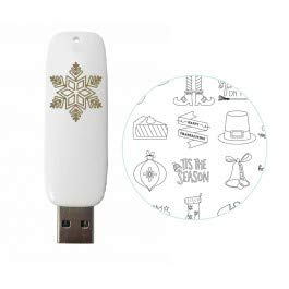 Holiday Designs USB Artwork Drive - Foil Quill - We R Memory Keepers