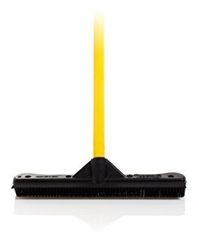 Sweepa Rubber Broom. Various Poles and Head Sizes Available. Dutch Rubber Broom, with Squeegee. Bonus Cleaning Cloth with Every Purchase. (Commercial Head w/59'' Pole) by GreatProductsUnlimited (Image #8)