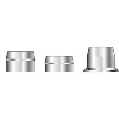 (QS-QUICK SHIP) Huck C50L 3LC-2R32G Lockbolt Collar; 1 Inch (1.000 Inch), FLNG Collar, Grade 5 Steel, Zinc CLR TRIV by C50L