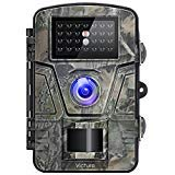 Victure Trail Game Camera with Night Vision Motion Activated 1080P 12MP Hunting Trap Cameras with Low Glow and Upgraded Waterproof IP66 for Outdoor Wildlife Watching (Best Trail Camera Under 100)