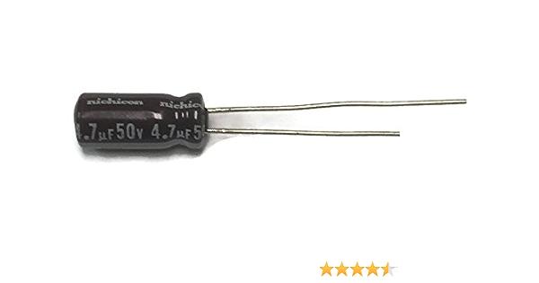 20x SMD Electrolitico Condensador 4,7µF 50V 85°C ; CA050M4R70REB4A ; 4,7uF