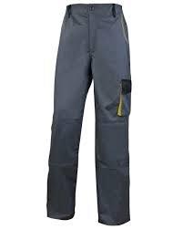 Delta Plus D-Mach pantalones de trabajo–DMPAN Gris / Naranja