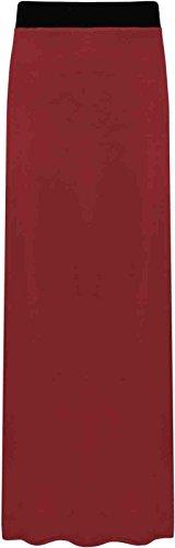 Generic - Jupe - vase - Femme Multicolore Bigarr Taille Unique Rouge - Bordeaux