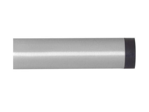 Wandtürstopper, Türpuffer Edelstahl matt 120mm x30mm