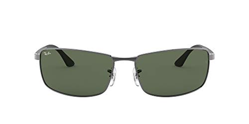 Ray-Ban mens Rb3498 Rectangular
