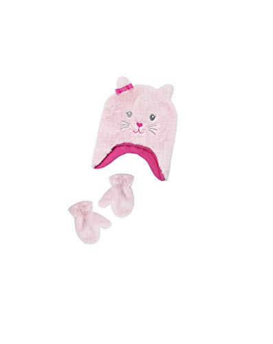 Infant Toddler Girls HAT and Glove, Size 2T-5T