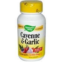 Cayenne-Garlic Nature's Way 100 Caps