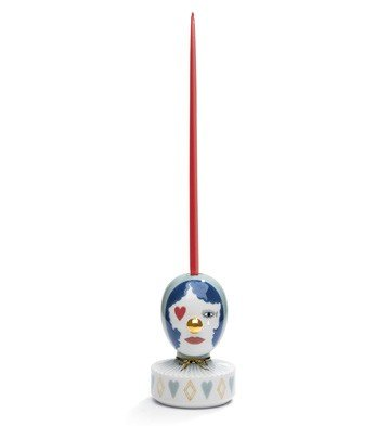 Lladro The Masquerade III Candle Holder by Lladro Porcelain