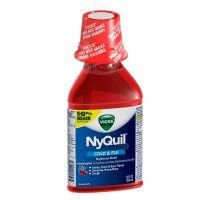 Nyquil Cherry Liquid 12/12 Oz