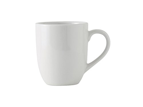 Tuxton BPM-160A Vitrified China Milano Mug, 16 oz, 3-3/4