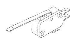 Micro-Switch (Cherry D48X/Grey) for Tuttnauer TUS057