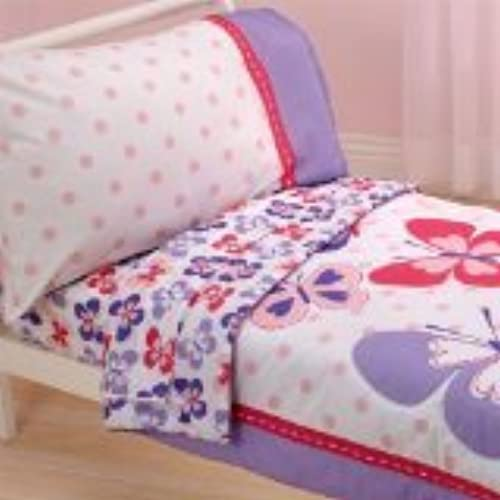 Carteru0027s 4 Piece Toddler Bed Set, Butterfly (Discontinued By Manufacturer)