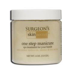 - Surgeon's Skin Secret One Step Manicure/Pedicure, Vanilla, 4 Ounce
