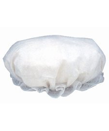 Amish Costume Halloween (Colonial Mob/Mop Hat-Halloween Costume Accessory-White, one)