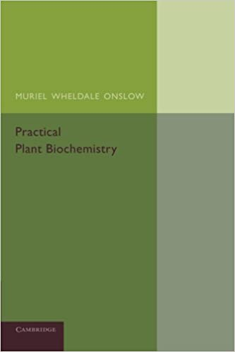 Book Practical Plant Biochemistry