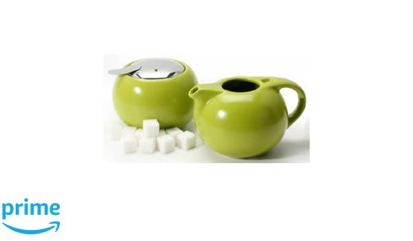 Danesco CHA Tea Cream /& Sugar Set White