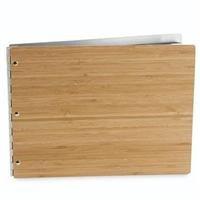 Vanderbilt Case Bag - Pina Zangaro Bamboo Amber Screwpost Binder, 8.5x11 Landscape Orientation (34617)