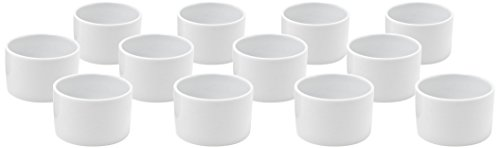 Front of the House ASC014WHP13 Tall Cup/Ramekin, 2