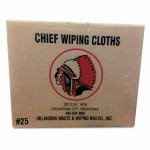 Knit T-Shirt Polo Cotton Wiping Rags, White (25 LB) by SOONER WIPING RAGS