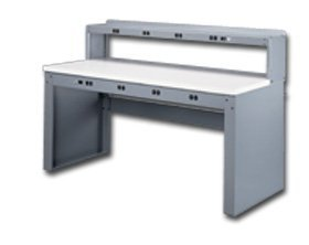 Tennsco Corp., Tennsco Electronic Workbenches With Panel Legs, Heb-1-3072P, Wt. (Lbs.): 190, Top Material: Laminate, Option A: Sand, Eb-1-3072P