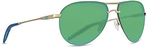 Costa Unisex Helo Matte Champagne/Deep Blue/Turquoise/Green Mirror 580p One Size ()