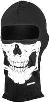 Schampa Skull Balaclava - Schampa Traditional Lightweight Adult Skull Harley Touring Balaclavas - Black / One Size Fits Most