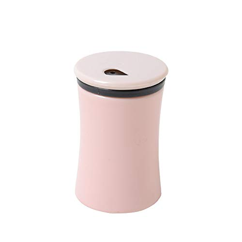 Wllsagl Xouwvpm Portable Toothpick Box Simple Style Living Room Decor Toothpick Barrel Dispenser (Pink) ()
