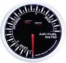 Depo Racing Super White Air Fuel Ratio Gauge - Autometer Air Fuel Ratio Gauge