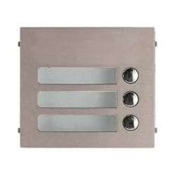 Aiphone GF-3P Three Call Button Panel for the GF and GT Series Modular Multi-Tenant Entry Security System