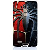 LG G4 Case Cover,Classical Spider Logo Design 3D Comic Spiderman Phone Case Cover for LG G4 Hot Superhero