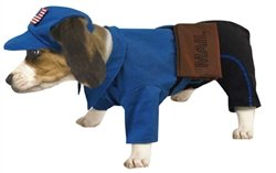 Costumes Postman (Mailman Dog Halloween Costume)