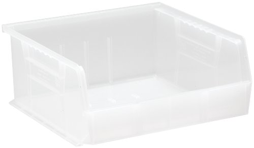 ic Storage Stacking Ultra Bin, 10-Inch by 11-Inch by 5-Inch, Clear, Case of 6 ()