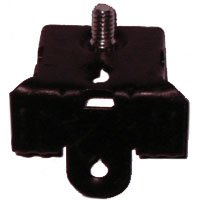 Erico M58S Caddy Armour Spring Steel Hammer-On Flange Clip 1/4-20 Rod