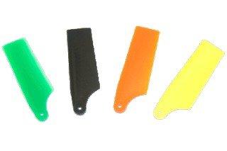 KBDD 200/250 Size Midnight Black Tail Blades 40mm