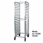 Win-Holt Full Height Mobile Pan Rack with Open Sides