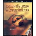 Introduction to 80 X 86 Assembly Language and Computer Architecture (Introduction To 80x86 Assembly Language And Computer Architecture)
