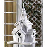 (Hummingbird Birdhouse White Cardinal Church Patterns Birdhouses Chickadee Thatch Roof Plans Outside Decorative Ornament)