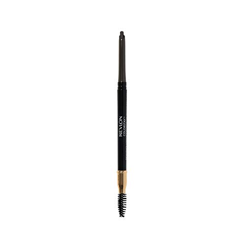 Revlon ColorStay Eyebrow Pencil with Spoolie Brush, Waterproof, Longwearing, Angled Tip Applicator for Perfect Brows…