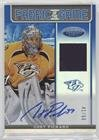 Chet Pickard  41 50  Hockey Card  2012 13 Panini Certified   Fabric Of The Game   Mirror Blue Jersey Autograph  Autographed   Fog Cpi