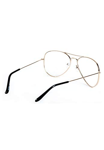Magic SY2031 Or LUNETTES UNISEX Custom AVIATEUR OR HrqHFT