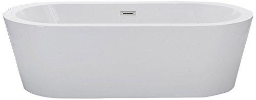 glossy white acrylic tub - 7