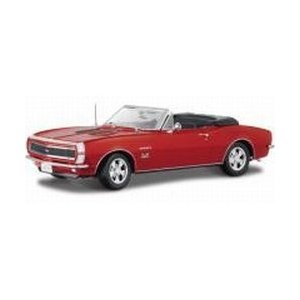Maisto Die Cast 1:18 Scale Red 1967 Chevrolet Camaro SS 396 (Ss Convertible Diecast Model)