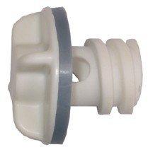 Engel Replacement Drain Plug - White ()
