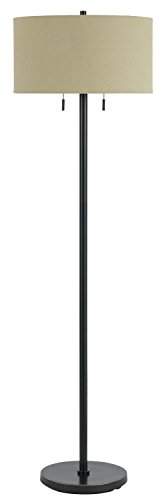 Cal Lighting BO-2450FL-DB Two Light Floor Lamp ()